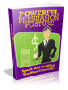 Thumbnail Powerful Persuasion Posture Comes with Master Resale!