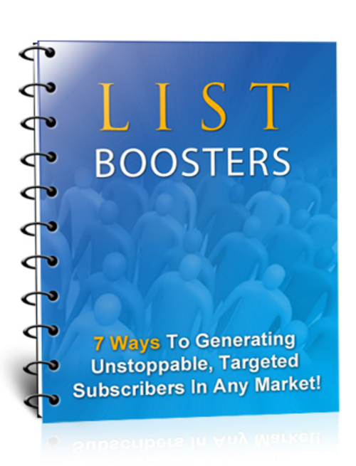 Product picture List Boosters with MRR!