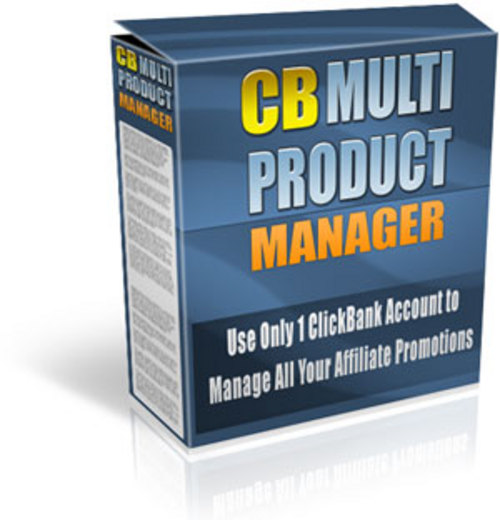 Product picture Clickbank Multi Product Manager With MRR!