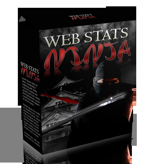 Product picture Web Stats Ninja With MRR!