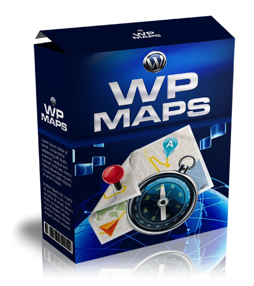 Product picture WP Maps With MRR!