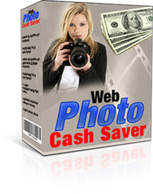 Product picture Web Photo Cash Saver With MRR!
