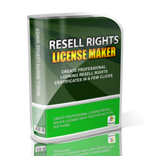 Product picture Resell Rights License Maker With MRR!