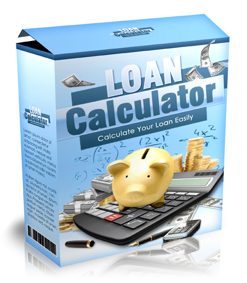 Product picture Loan Calculator With MRR!