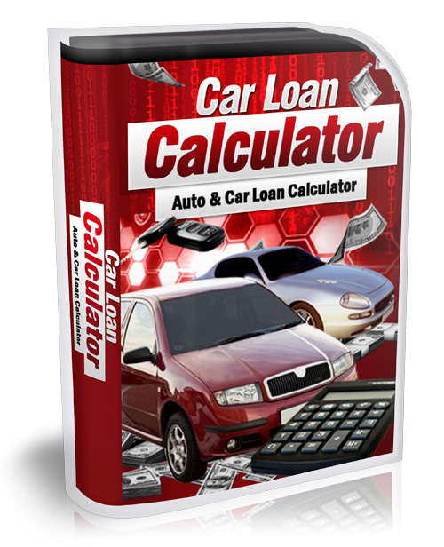 Product picture Car Loan Calculator With MRR!