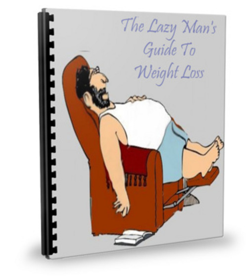 Product picture The Lazy Mans Guide To Weight Loss With PLR!