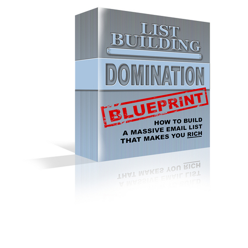 Product picture List Building Domination Blueprint With PLR!
