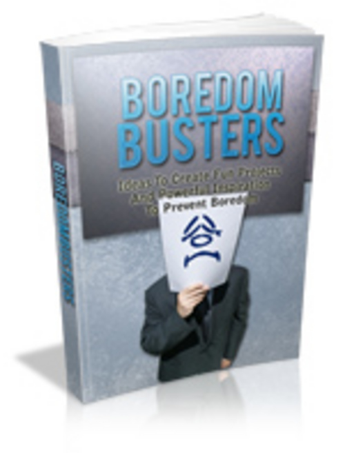 Product picture Boredom Busters With MRR!