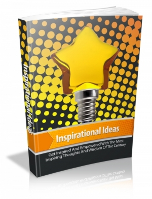 Product picture Inspirational Ideas With MRR!