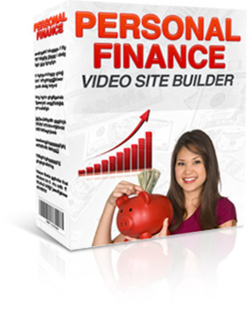 Product picture Personal Finance Video Site Builder With Mrr