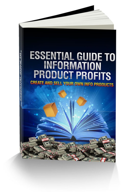 Product picture Essential Guide To Information Product Profits With Mrr
